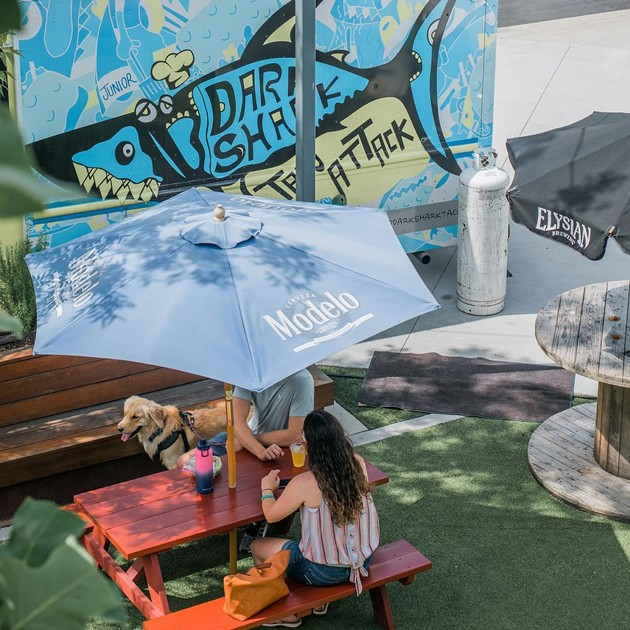 Taco Attack serves patrons as a featured food truck in Starland Yard. - PHOTOS COURTESY OF STARLAND YARD