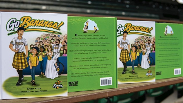 Emily Cole's new children's book, 'Go Bananas!' is available now. - PHOTOS COURTESY OF THE SAVANNAH BANANAS