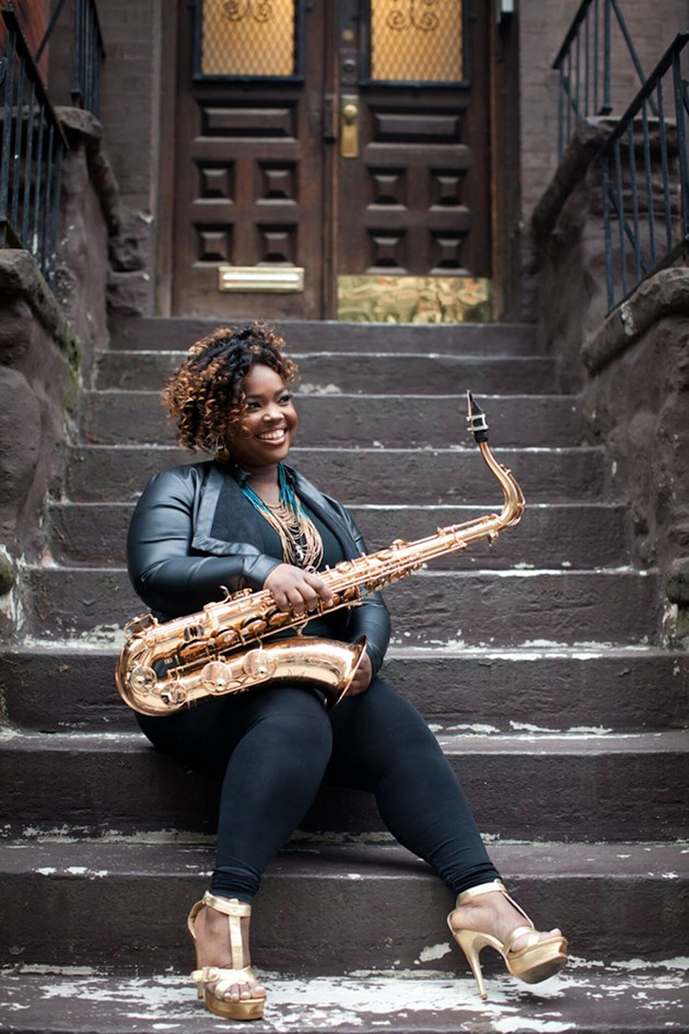 Camille Thurman. - PHOTO COURTESY OF THE ARTIST