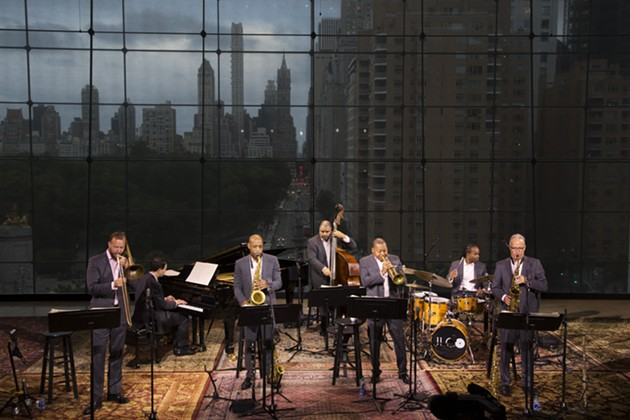 Jazz at Lincoln Center Orchestra Septet. - PHOTO BY JUSTIN BIAS