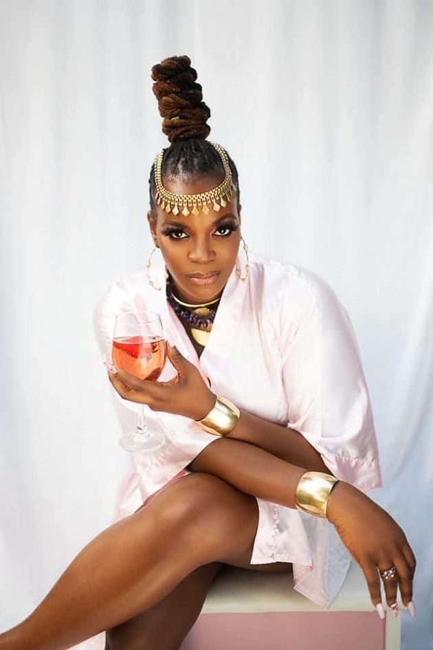 """Cherica Jones, """"The Yoni Lady,"""" poses with her newfound confidence. - SHOTS BY SOMI"""
