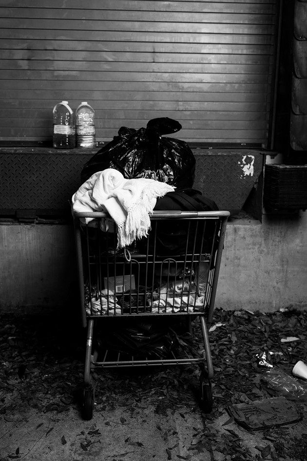 Shot from 'Stories from Savannah' homelessness series - PHOTO COURTESY OF SHOT BY SOMI