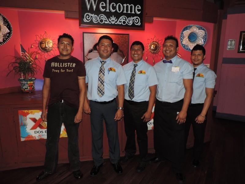Los Hermanos Ramirez: Omar, José, Abel, Alejandro and Urivel.