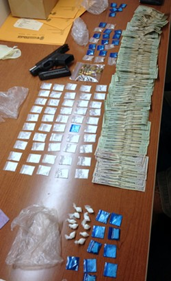drugs_cash_weapon_recovered_in_unit_drug_arrest.jpg