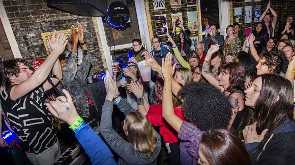 French Horn Rebellion, a Stopover gig - GEOFF L. JOHNSON
