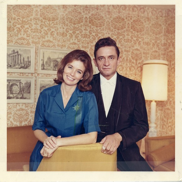 June Carter and Johnny Cash; the film features one of the last interviews with Johnny before his death.