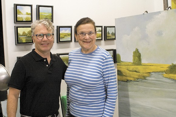 ARC President Pro Tem Daniel Smith and Vice President Gale Steves are creating a comprehensive map of all the visual art spaces in the greater Savannah area.