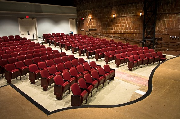 Rows of authentic art deco chairs reclaimed from the Trustees Theater have found new life on Tybee Island.