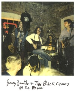 Jerry Zambito and The Black Crowes.