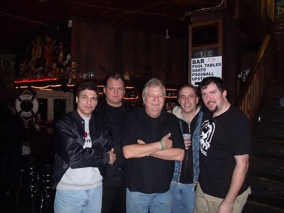 Above L-R: Mark Vaquer, Greg Williams, Jerry Zambito, Paul Cooper and Thomas Claxton. Photos courtesy of Thomas Claxton