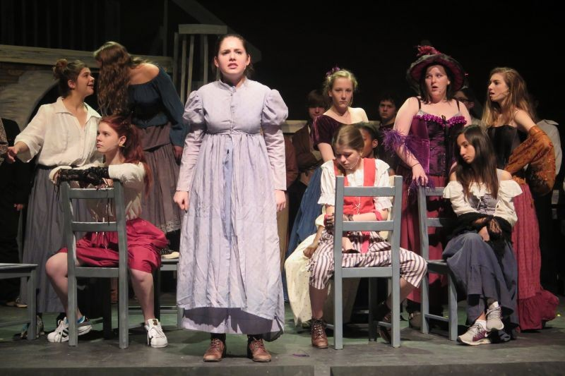 Cheers to local theater! Savannah Country Day's production of Les Misérables kicks off on Thursday.