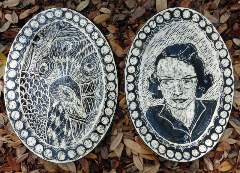 By Becca Sipper - Miss Flannery and her Feathered Friend