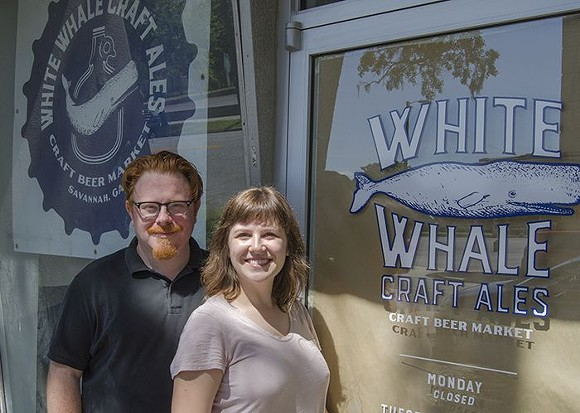 Jason and Jocelyn Piccolo of White Whale Craft Ales