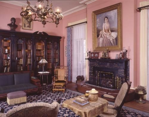 Before last year, the room was a traditional library setting depicting where the Gordon family once convened and socialized. - PHOTO COURTESY OF JULIETTE GORDON LOW BIRTHPLACE