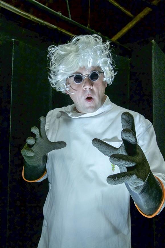 Mad scientist Justin Kent. - CHRIS SOUCY