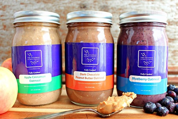 Aside from being 100% local and handmade in Savannah, this company's oatmeal uses only natural ingredients like banana for consistency and organic extra virgin coconut oil as a natural preservative.