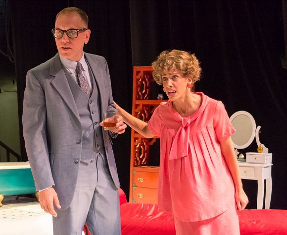 Christopher Blair as Gooper (Brother Man) and Casey Bessette as Mae (Sister Woman) . - PHOTO BY MERCEDEB PHOTOGRAPHY