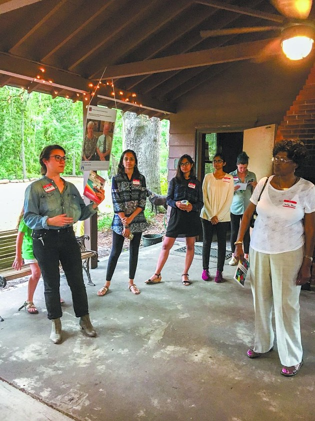 Rachel Segrest (l.) and her fellow Design for Sustainability classmates tackled solutions towards making Savannah—and the world—more resilient.