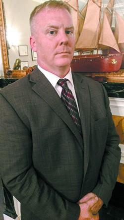 Kevin Grogan is a former SCMPD cop and Iraq War veteran. He is no longer in the law enforcement field.