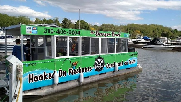 The Burger Boat.