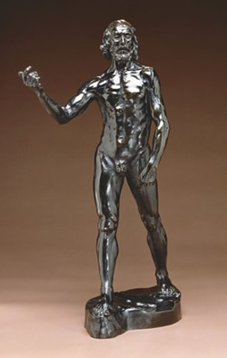 The Rodin exhibit at the Jepson Center continues into January.