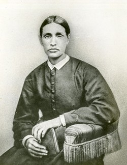 This unidentified woman (Walter Charlton Hartridge, Jr. Collection, MS 1349, Georgia Historical Society, Savannah, Georgia) may be the only existing photograph of Mother Mathilda Beasley (1832-1903). - GHS
