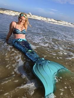 Tybee Mermaid welcomes merfriends to her home shore.