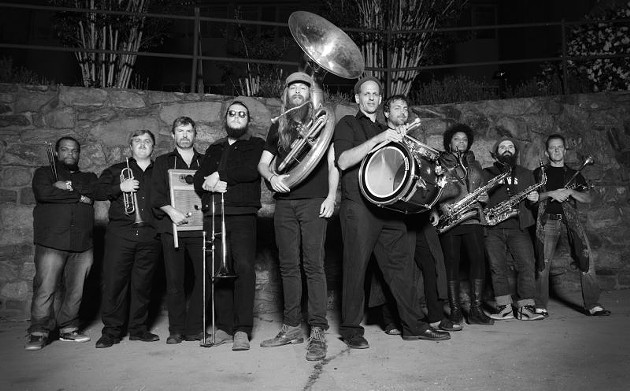Get funky at Southbound with Empire Strikes Brass.
