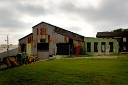 What the machine shop looked like before renovation. - PHOTO BY JAMES BYOUS