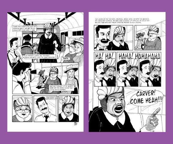 Tim Taylor's comic strip