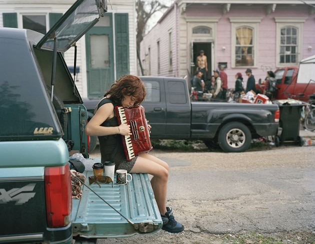 Justine Kurland, Claire, 8th Ward, 2012