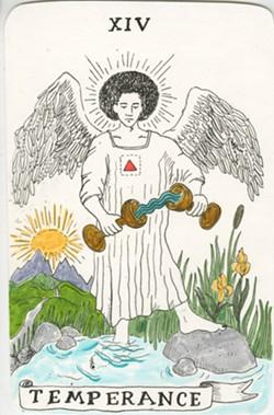 "Eliza Woods Harrison, ""Tarot Cards for Sophie."""