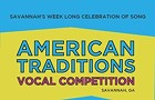 American Traditions Vocal Competition Master Class