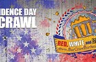 Red, White, and Brews Independence Day Bar Crawl