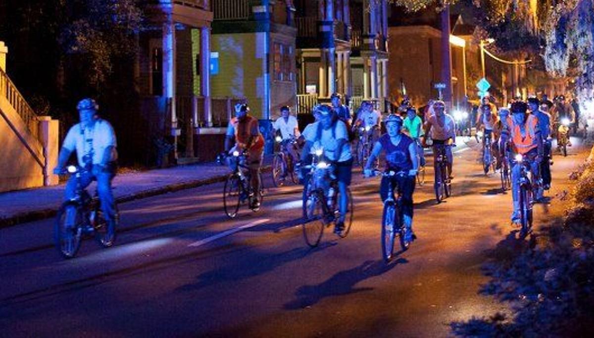 Moonlight Garden Ride marks decade of fun in the dark