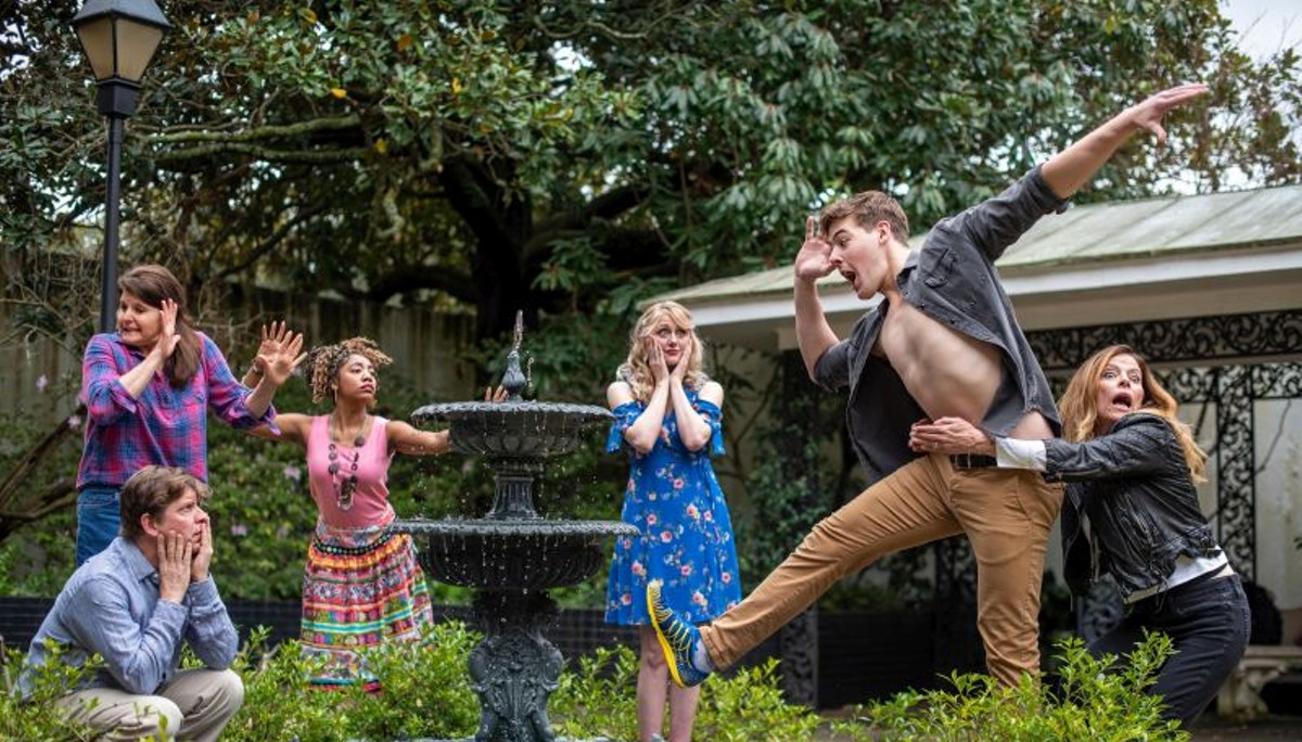 Savannah Rep parodies, honors Chekov with 'Vanya' performance
