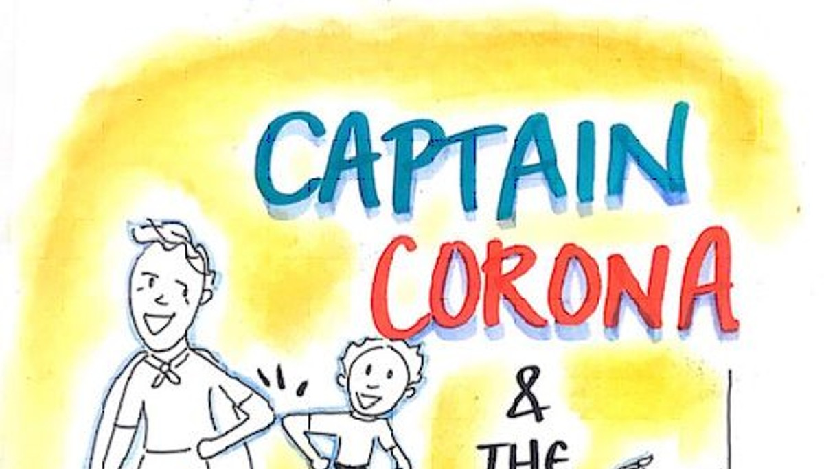 Captain Corona: A children's book for our time