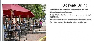 Savannah set to expand  sidewalk dining options
