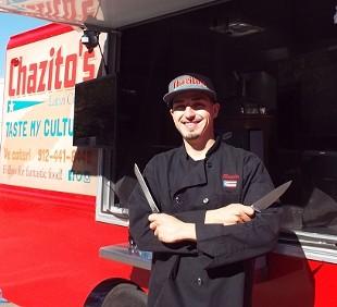 Chaz Ortiz: Food truck pioneer