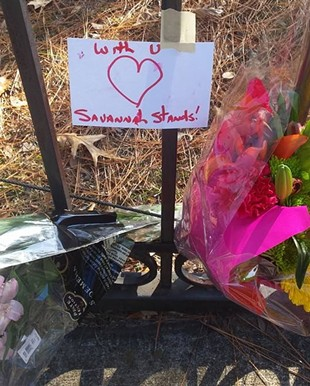 Unsurprisingly, Savannah meets hate with love