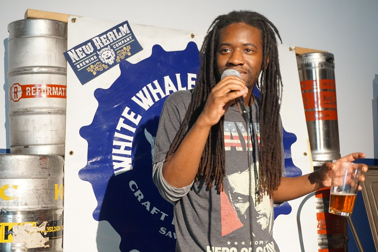 Local favorite comedian Jerrod Smith competes in the 1st Comedy Draft