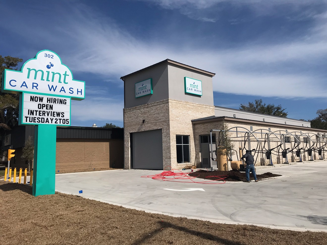 The third Mint Car Wash location opens earlier this year at 302 Commercial Dr. in Savannah.