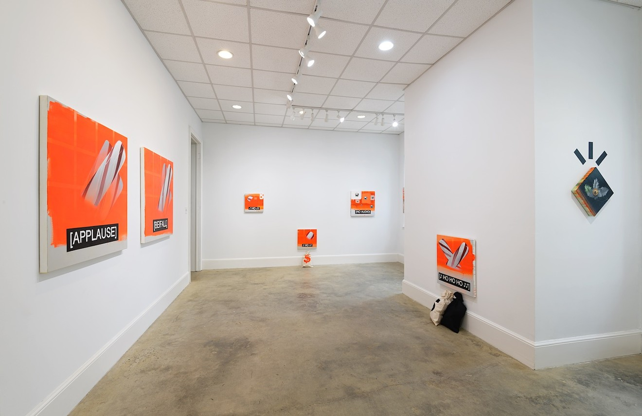 Art by Craig Drennen is on display at Laney Contemporary.
