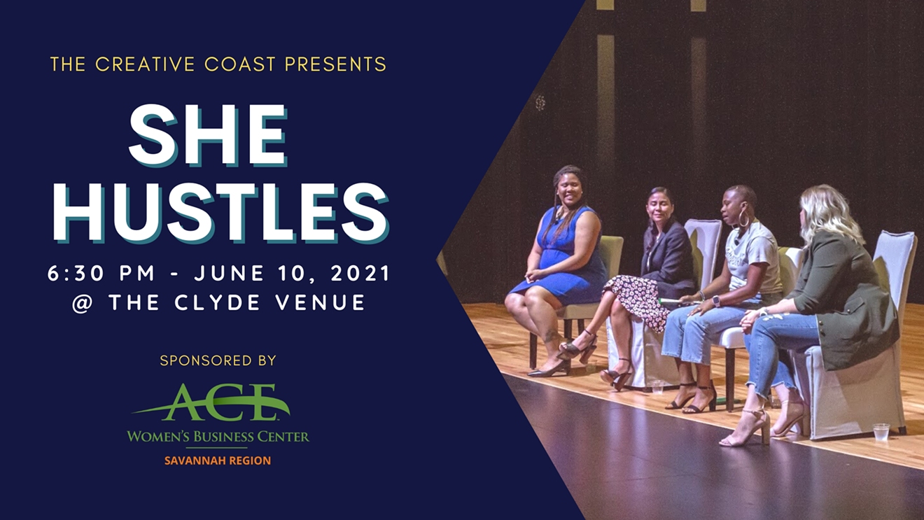 Purchase tickets to SHE HUSTLES for a motivational evening.