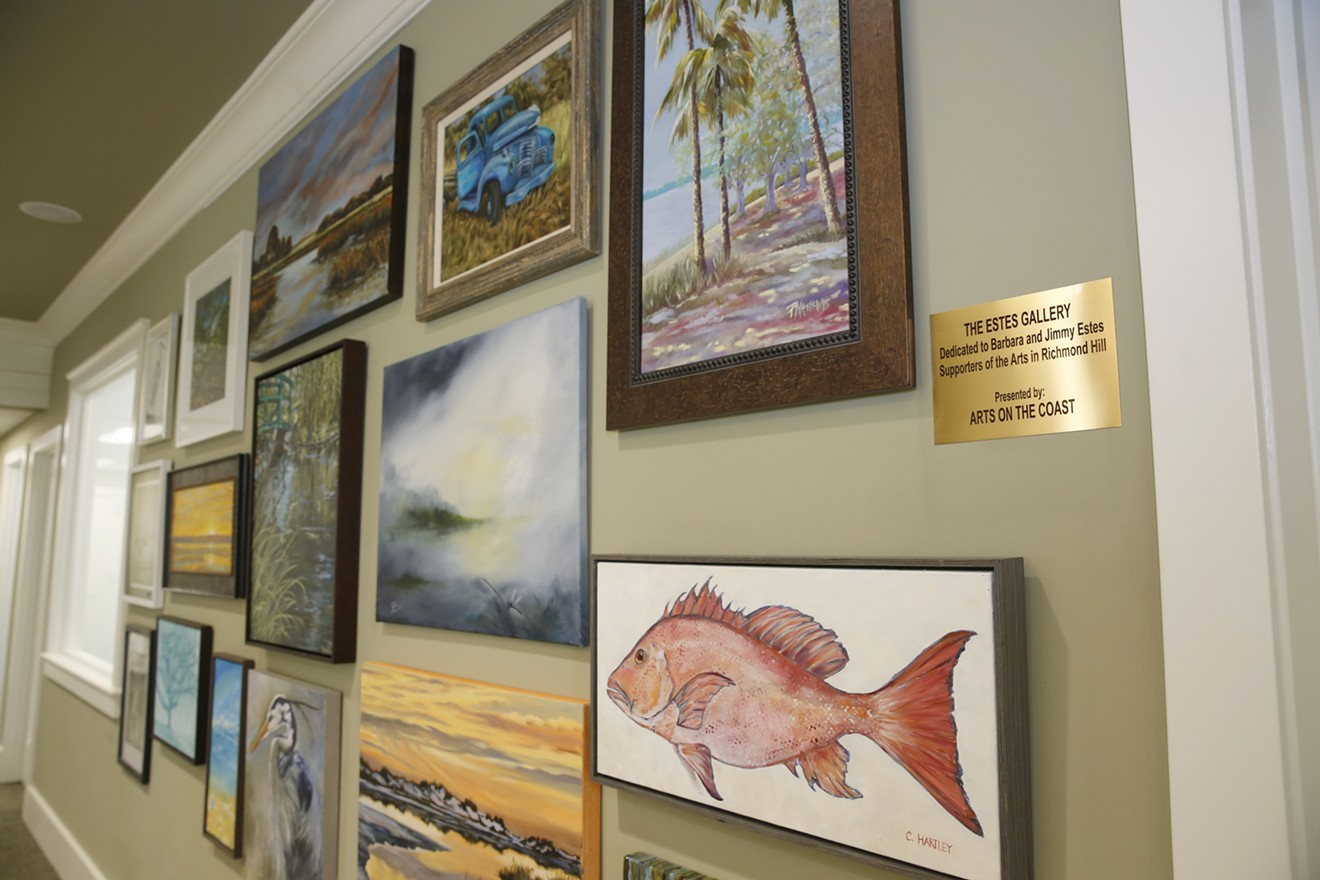 The Estes Gallery on display at Great Oakes Bank