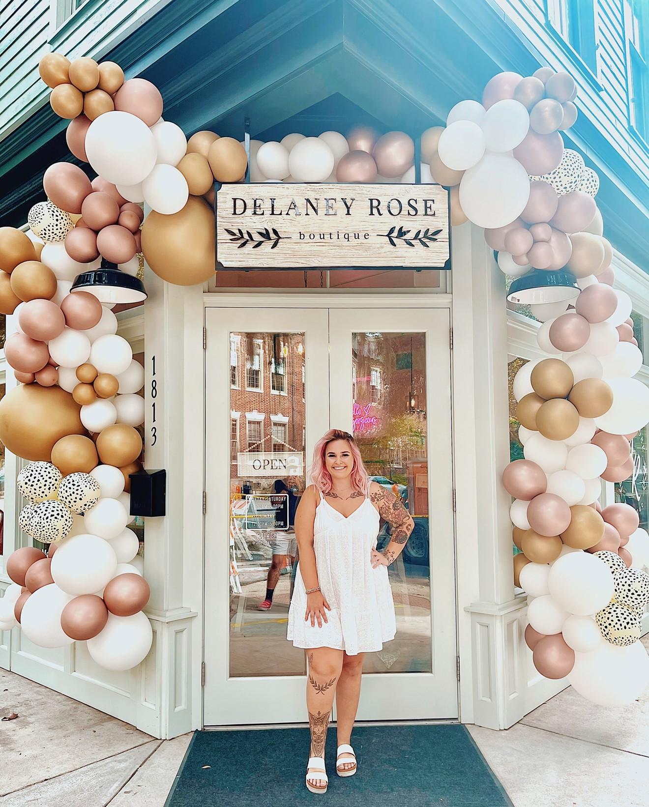 Delaney Rose Erks, owner and creative curator behind Delaney Rose Boutique opens her brick-and-mortar location July 1 on Bull St. in the Starland District.