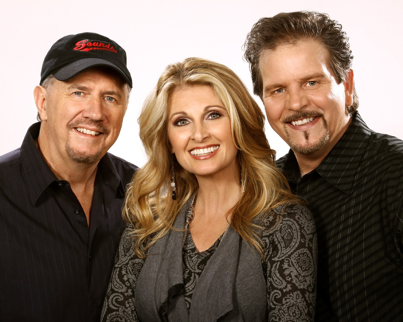 Bill Whyte, left, Linda Davis and Lang Scott entertain audiences with song and stories.