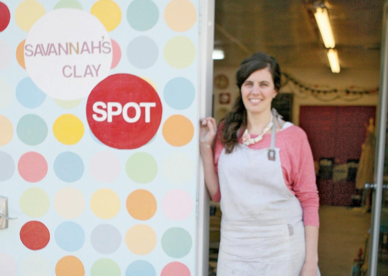 Lisa Bradley of Savannah's ClaySpot