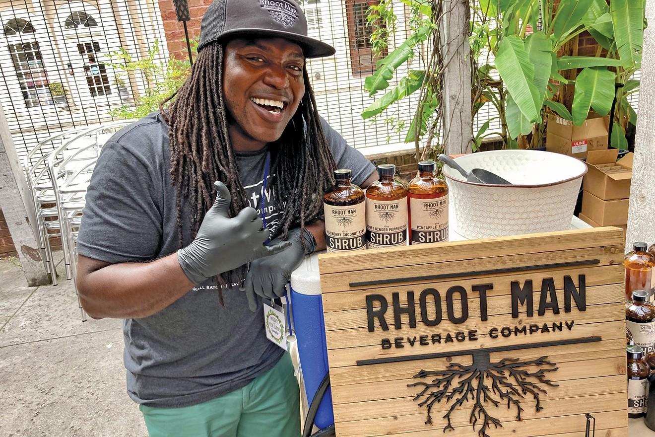 Sidney Lance of Rhoot Man Beverages