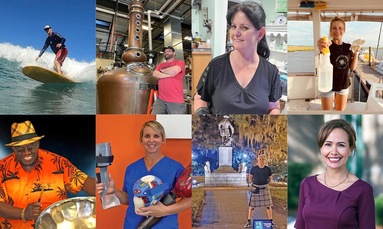 Top (L-R): Turner Horton, Ken Klehm, Dawn Kirchinger, Kelly Hanrahan  Bottom (L-R): Melvin Dean, Haley Counihan, Patrick Burns, Clara Valzone